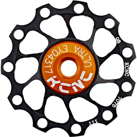 KCNC Jockey Wheel Ultra 11 tanden SS Lager, black